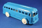 Plasticville - O-o27 - Bus - Dark Blue Bus - Original - Excellent+++++ Condition