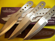 Hibben - 7 Small Throwing Knives - 3 Pc. Set - Gil Throwers W/ Sheath Gh5002