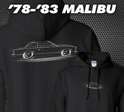Hoodie And03978-and03983 Malibu - G-body Chevy Chevrolet 1978 1979 1980 1981 1982 1983