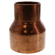 6 X 4 Reducing Coupling C X C - Wrot Copper Pipe Fitting