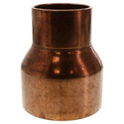 6 X 3 Reducing Coupling C X C - Wrot Copper Pipe Fitting