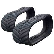 Pair Of Prowler Gehl Ctl80 Snow And Mud Rubber Tracks - 450x100x50 - 18