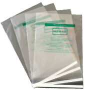 400 Pcs 11x14 Ps Clear Permanent Seal Poly Bags With Suffocation Warning