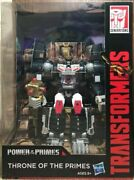 Hasbro Transformers 2018 Sdcc Power Of The Primes Throne Of The Primes Potp