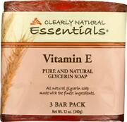 Clearly Natural-vitamin E Bar Oap Pack Of 6 4 Oz Bars