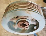 7 Groove 23-3/8 Od Pulley With 3-3/4 Id Bore C Belt