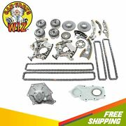 Timing Chain Kit W/vvt Gears Cover Seal Water Pump Fits 05-09 Audi 3.2l V6 Dohc