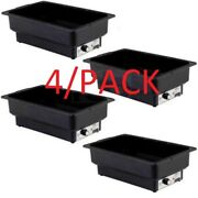 4/pack Electric Chafer Chafing Dish Steam Full Food Pan Table Warmer Buffet