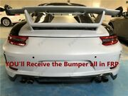 Frp Kit For 12-15 Porsche 911 991.1 Carrera 4 And 4s 991.2-gt3-style Rear Bumper