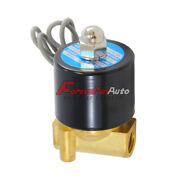 Air Ride Suspension Valve 1/4npt Brass Electric Solenoid For Train Horn Fast