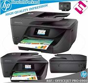 Multifunction Hp Inject Colour Officejet Pro 6960 Fax Wifi Duplex Proposed