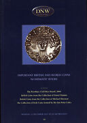 Dnw - British Uk Civil War Coins - Auction Catalog Book Reference Silver Coin