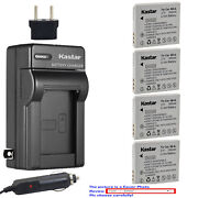 Kastar Battery Ac Charger For Canon Nb-4l Nb-4lh And Digital Ixus 110 Is Camera