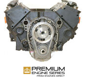 Chevrolet 5.7 350 Engine Caprice New Reman Oem Replacement 90-93 2 Bolt