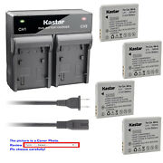 Kastar Battery Rapid Charger For Canon Nb-4l And Digital Ixus 130 Digital 40 / 50