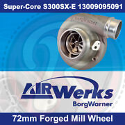 Borg Warner S300sx-e Super-core Turbo 72mm Inducer - Forged Mill Wheel-brand New