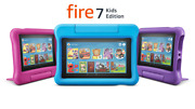 New Fire 7 Kids Edition Tablet 16gb 9th Gen - Blue Pink Purple - Colors