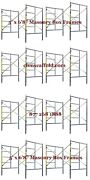 Cbm Scaffold Eight Set Snap On Lock 5and039 X 6and0398 X 7and039 Masonry Scaffolding Frame Set
