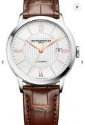 Baume And Mercier Classima Menandrsquos Watch With Date 10263 - Brand New And Unused