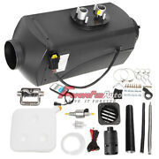 New 12v 5kw Diesel Air Heater For Rv Car Truck Boat W/ Remote Controller