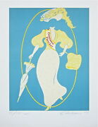 Constance Fletcher The Mother Of Us All Limited Edition Lithograph R. Indiana
