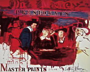Dutch Masters Limited Edition Lithograph And Silkscreen Larry Rivers - Signed