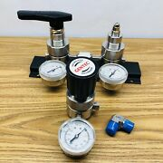 Gentec Specialty Gas R2100 Series Switch Over Distribution Valve
