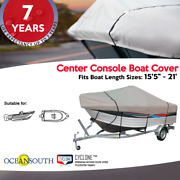 Oceansouth V-hull Center Console Trailerable Boat Cover