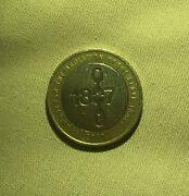 Rare 1807 Abolition Of Slavery 2 Pound Coin Royal Mint Errors.