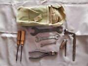 Fiat Topolino Belvedere 500 C Tool Kit Bag Wrench Pliers A B 1100 Balilla 600 7