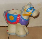 Fisher Price Current Little People Castle Horse 3 Fplp Rare Vhtf