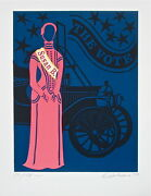 Susan B. Anthony The Mother Of Us All Limited Edition Lithograph Robert Indiana