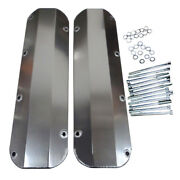 Valve Covers For Bb Ford 429 460 Fabricated Aluminum Tall 1/4 Billet Rail Bbf