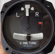 O/hand039ed Mid-continent P/n 1234t100-7tz Turn And Slip Indicator With O/h Tag
