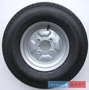 500 X 10 Inch Trailer Wheel With 6 Ply High Speed Tyre With 4 Inch Pcd