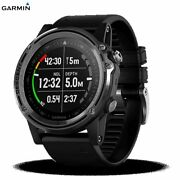 【garmin】 Descent Mk 1 Dive Computer Gps Rechargeable Watches Diving By Ems