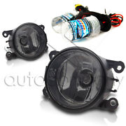 For Lincoln 05-06 Ls 08-12 Navigator Replacement Fog Lights W/hid Kit - Smoke