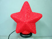 New Star Shaped Red Desk Table Glow Lamp Stars