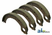Nca2218b Fits Ford New Holland 4 Tractor Brake Shoes Models 600 601 700 701 800