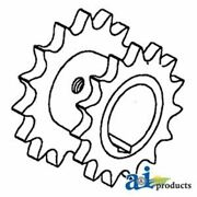 71182723 Gleaner Feeder Beater And Raddle Rh Drive Sprocket 18 And 16 Tooth