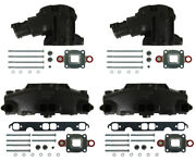 Mercruiser Dry Joint Sbc V8 Exhaust Manifold And Elbow Kit. 865735a02 864591t02