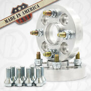 X2   4x98 To 4x100 Hub Centric Wheel Adapters 1 Thick   Kit With Bolts And Nuts
