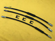 New Xxl Set Brake Hoses Incl. Retaining Clips For Opel Blitz 19to 25 +19 L