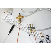 Automatic Ignition Kit Flame Pilot Burner Thermocouple Gas Valve Beer