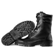 Menand039s Combat Boots Tactical Russian Leather Garsing Winter Cold Ranger Black
