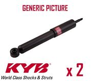 2 X New Kyb Front Axle Shock Absorbers Pair Struts Shockers Oe Quality 331019