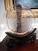 Fabulous Berbere Capricorn Crystal Charger By Lalique