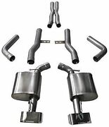 Corsa 14994 Xtreme Cat-back Exhaust For 2015-2021 Dodge Challenger Rt Scat Pack