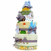 My Neighbor Totoro Diaper Cake And Towel 3 Set With Pampers S Size Studio Ghibli