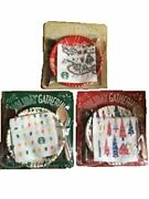 Starbucks 2017 Holiday Gift Party Set 3pcs Set Japan Limited Very Rare Cute Gift